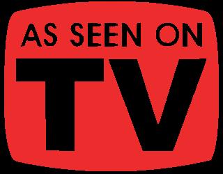 'As Seen On TV' slogan