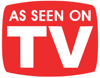 'As Seen On TV' slogan