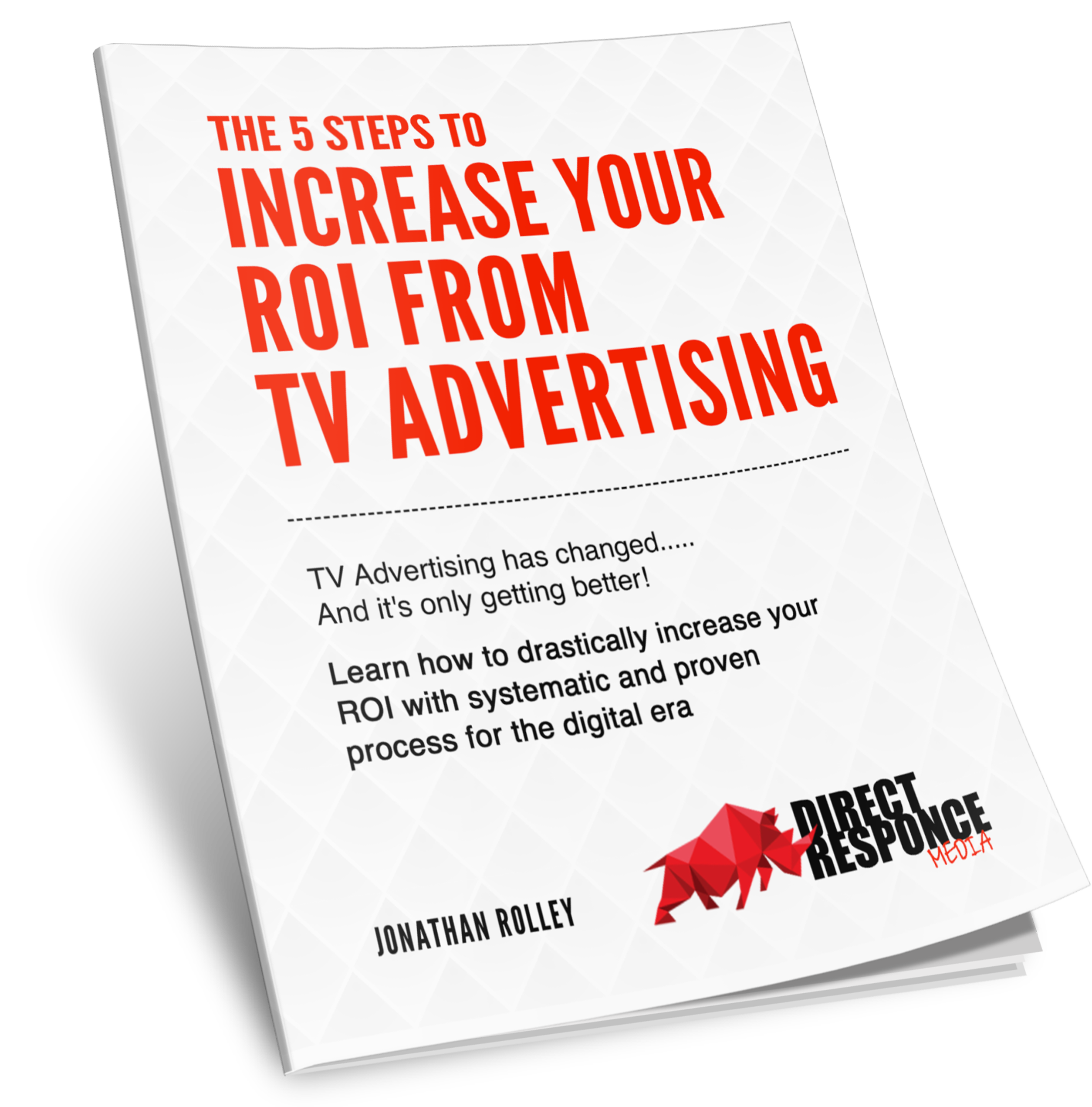 5 steps to ROI from your TV Advertising