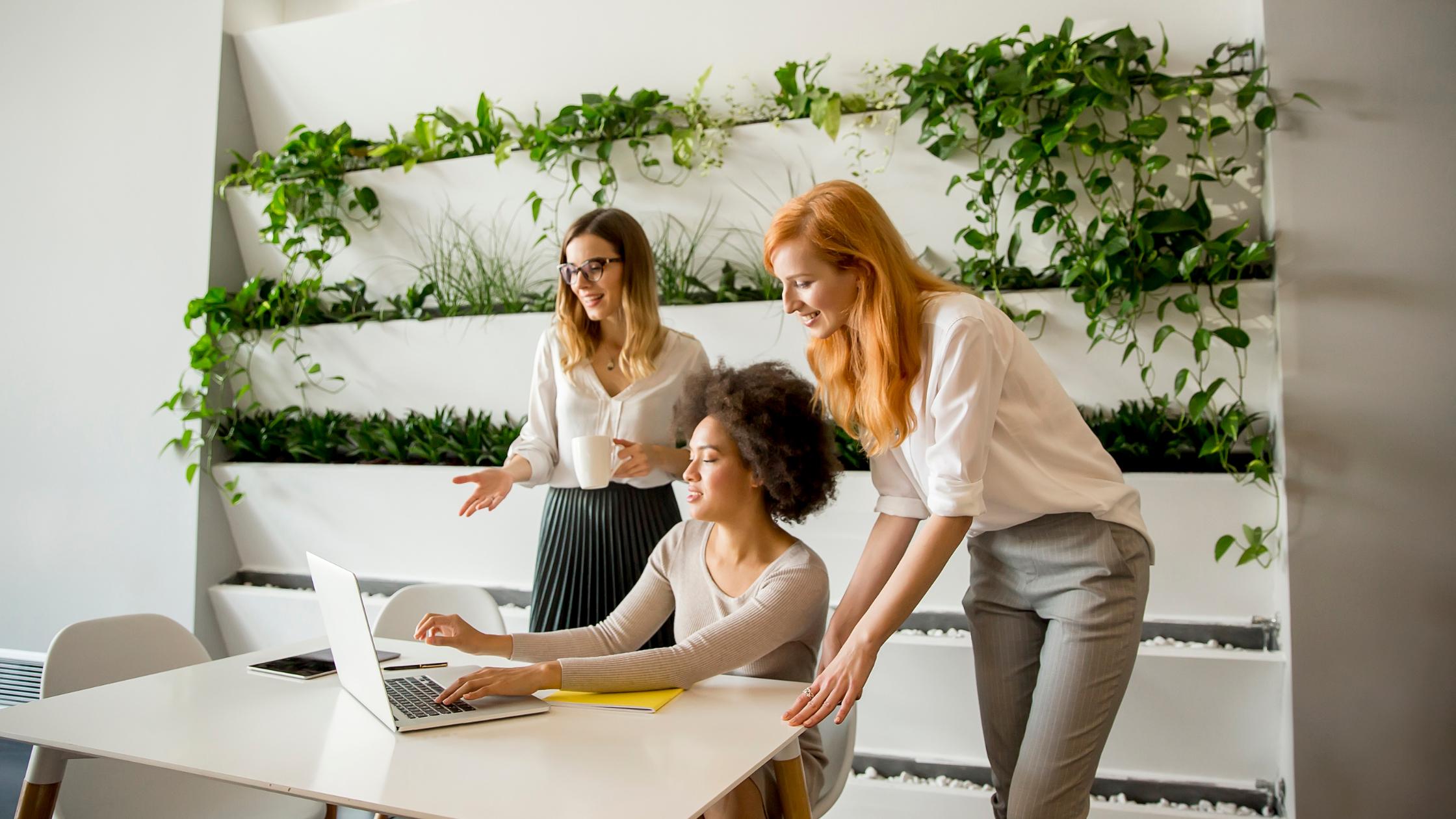 Women-run agencies